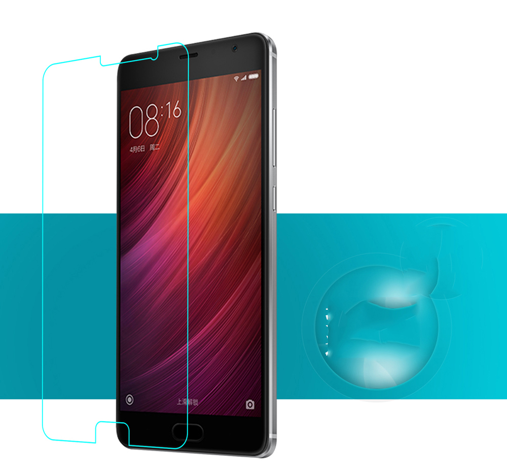 Luanke Tempered Glass Screen Protective Film for Xiaomi Redmi Pro 0.26mm 2.5D 9H Explosion-proof Membrane