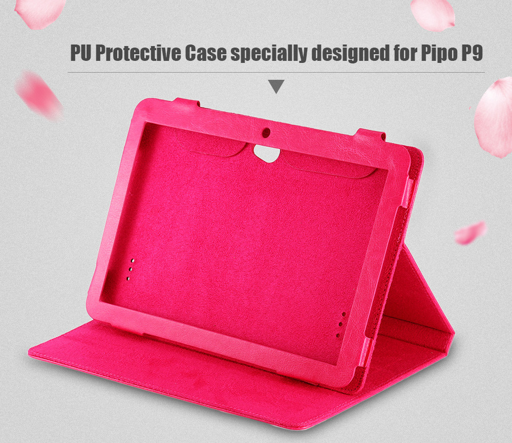 PU Leather Protective Case Dirt-resistance Stand Design for Pipo P9