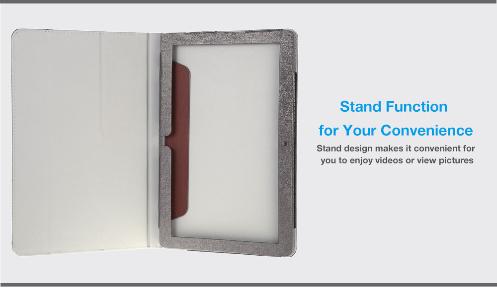 PU Protective Case Full Body Folding Stand Design for Teclast Tbook 16 Pro