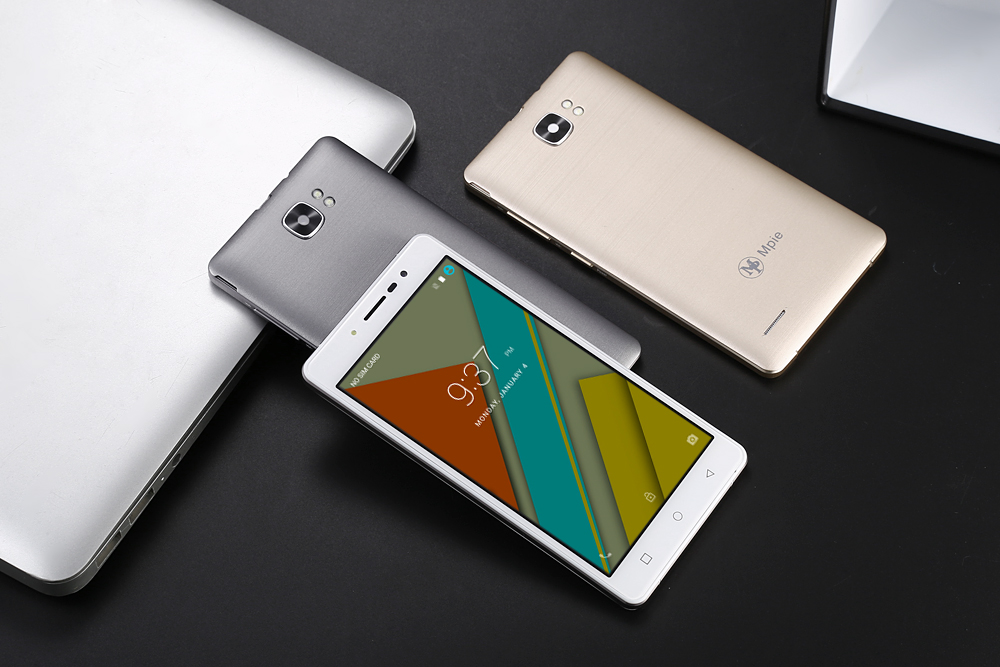 Mpie MG16 Android 6.0 5.0 inch 3G Smartphone MTK6580 Quad Core 1.3GHz 8GB ROM Dual Cameras Smart Wake-up