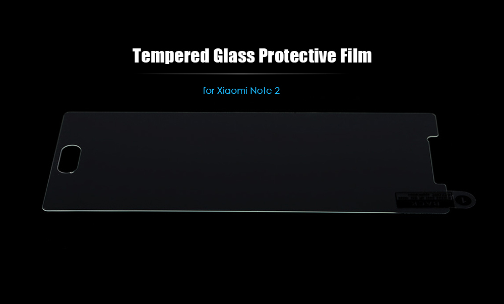 Tempered Glass Screen Protective Film for Xiaomi Note 2 Ultra-thin 0.3mm 9H Explosion-proof Protector