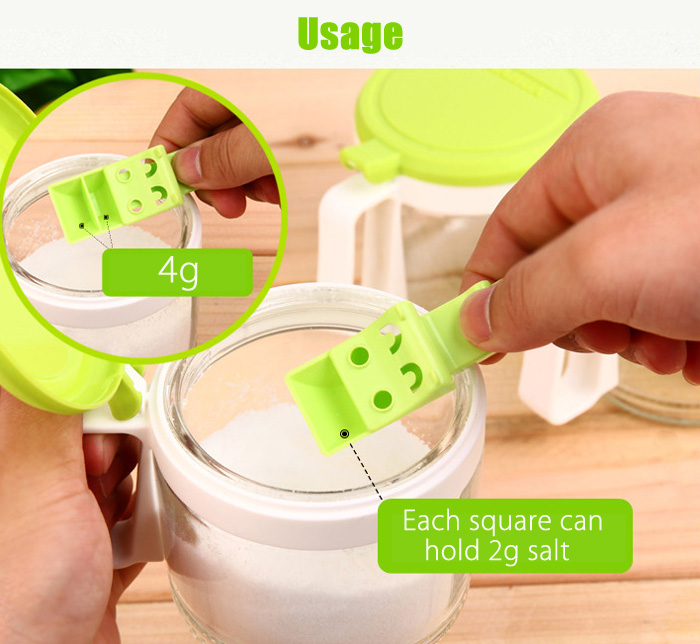 2PCS Get Believe Cartoon Measuring Spoon Kitchen Gadget