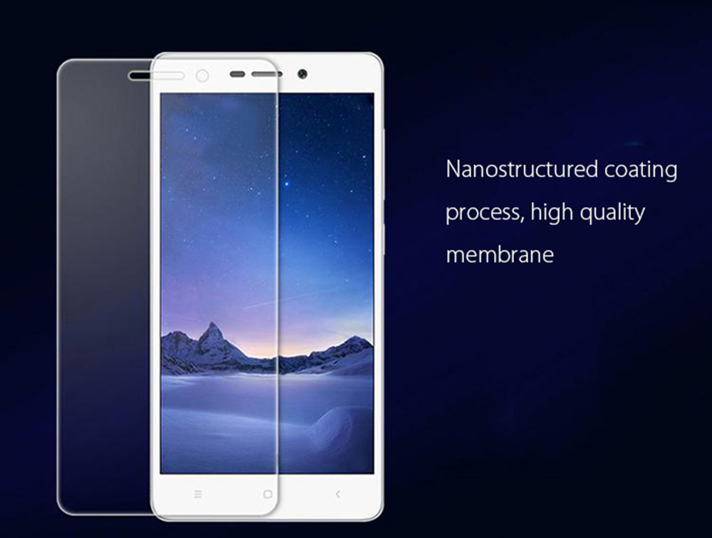 Gocomma Tempered Glass Screen Protective Film for Xiaomi Redmi 3 / 3S / 3 Pro 0.3mm 2.5D 9H Explosion-proof Protector