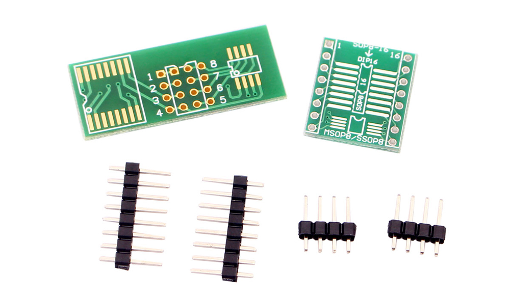 Easy-to-use SOP8 to DIP8 Circuit Board Converter Module