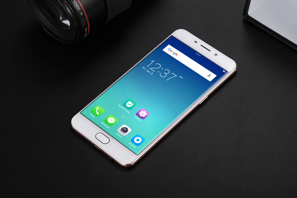 OPPO R9 5.5 inch 4G Phablet Android 5.1 Helio P10 MTK6755 Octa Core 2.0GHz 4GB RAM 64GB ROM 13MP + 16MP Dual Cameras Fingerprint Sensor VOOC Flash Charge