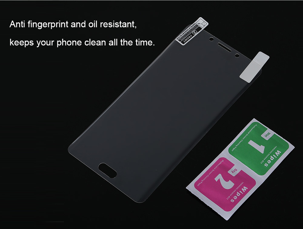 Tempered Glass Screen Protective Film for Xiaomi Note 2 0.26mm 2.5D Arc 9H 3D Heat Bending Explosion-proof Protector