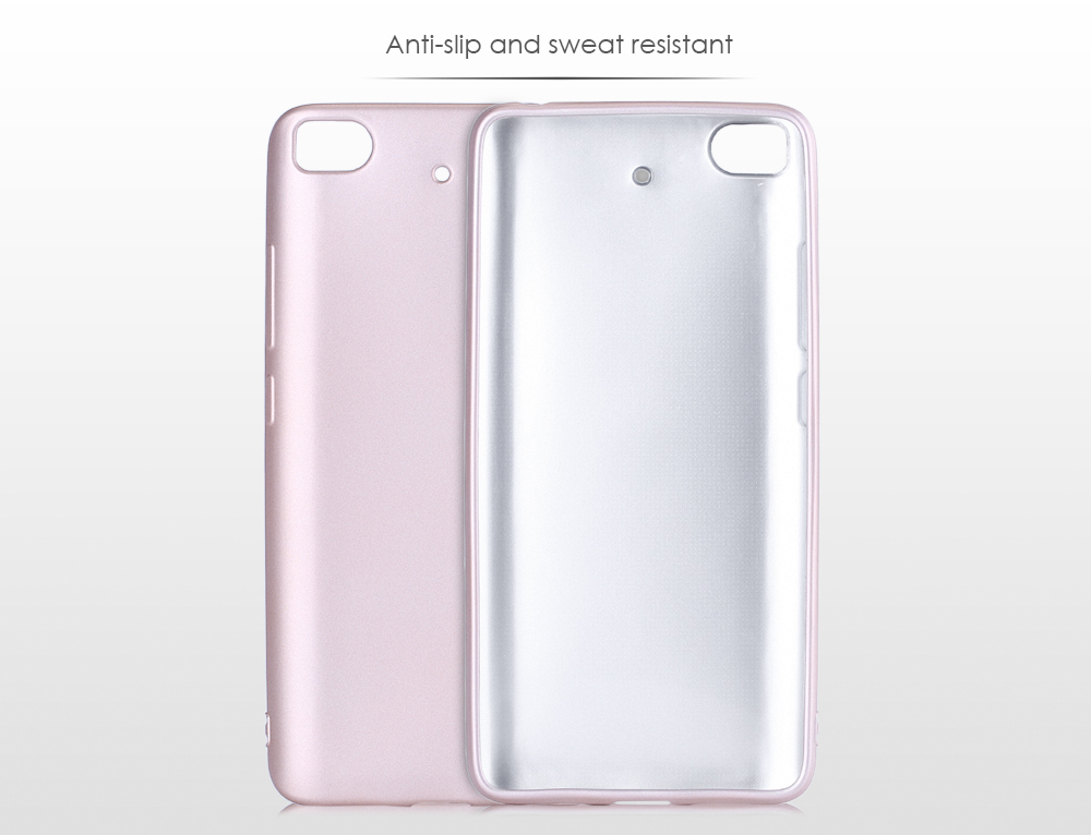 OCUBE Super Soft TPU Protective Case Phone Cover Rubber Oil Coating for Xiaomi 5S Lightweight Ultra-thin Mobile Shell