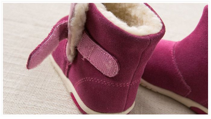 Paired dave bella Winter Woolen Snow Boots for Kid Baby