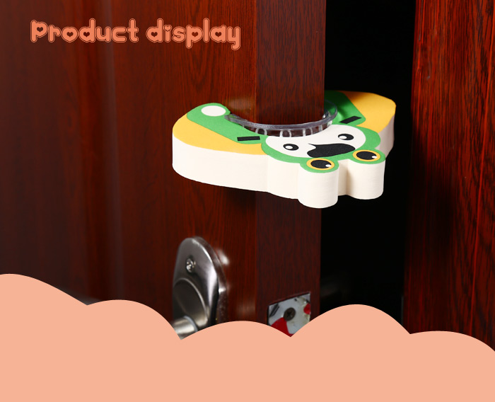 3PCS BabyMatee Cute Cartoon Non-Slip Baby Safety Finger Pinch Guard Door Stopper