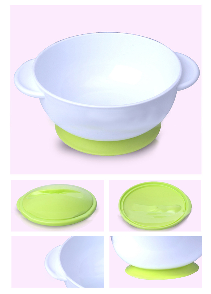 REIZBABY Baby Infant Bowl with Suction Cup