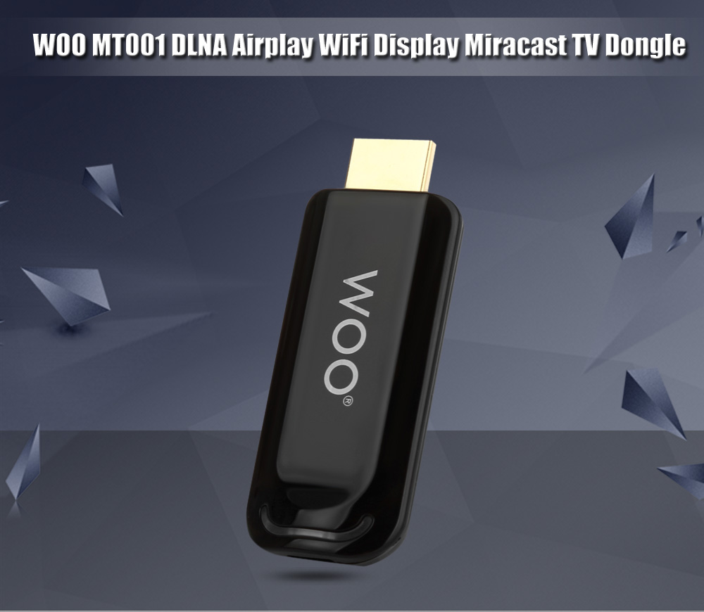 WOO MT001 DLNA Airplay WiFi Display Miracast TV Dongle HDMI Multi-display Receiver Mini Linux TV Stick
