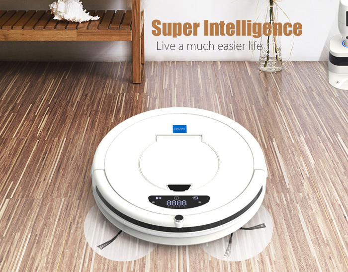 TUOPODA SK - 7 Robotic Vacuum Cleaner Duster Set Vacuuming Seeping Mopping