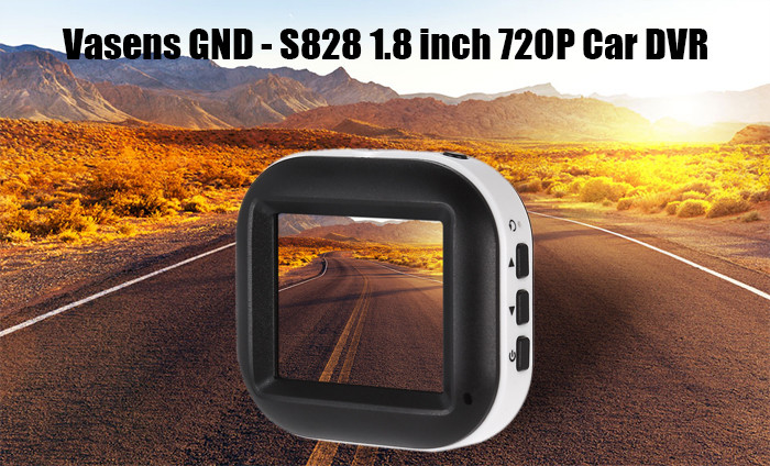 Vasens GND - S828 1.8 inch 720P HDR Recording Car DVR with Parking Monitoring One-key Lock Function
