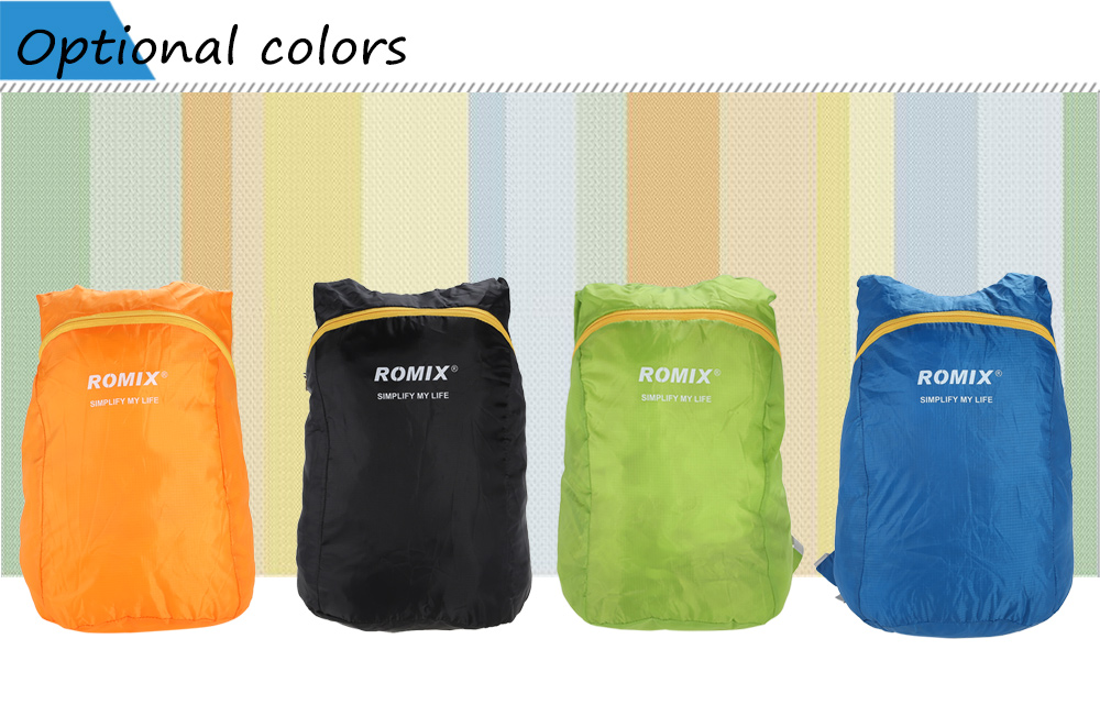 ROMIX RH30 Ultra-light 18L Foldable Backpack Water-resistant Polyester Bag