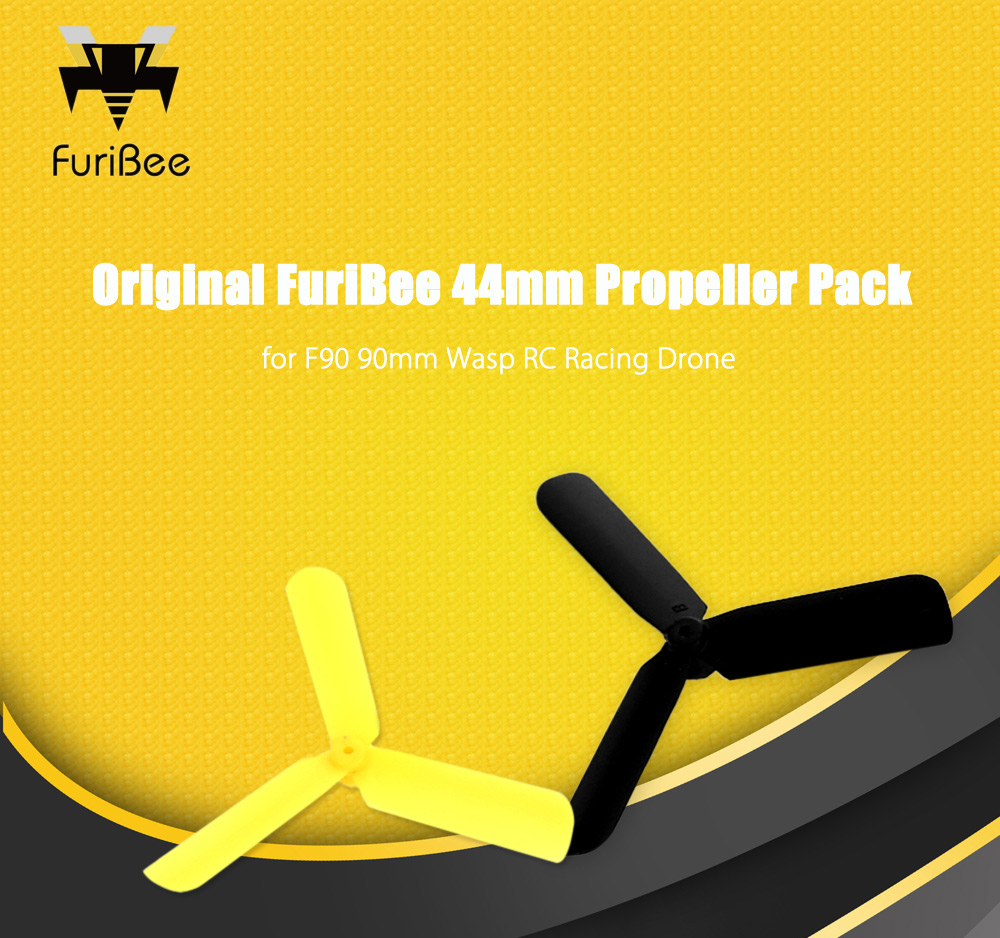 Original FuriBee 44mm Three-blade Propeller 12pcs for F90 90mm Wasp RC Racing Drone