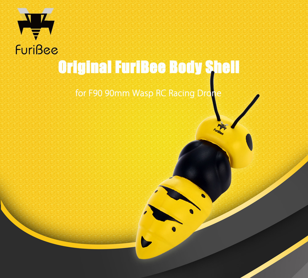 Original FuriBee Frame Cover for Wasp F90 90mm RC Racing Drone