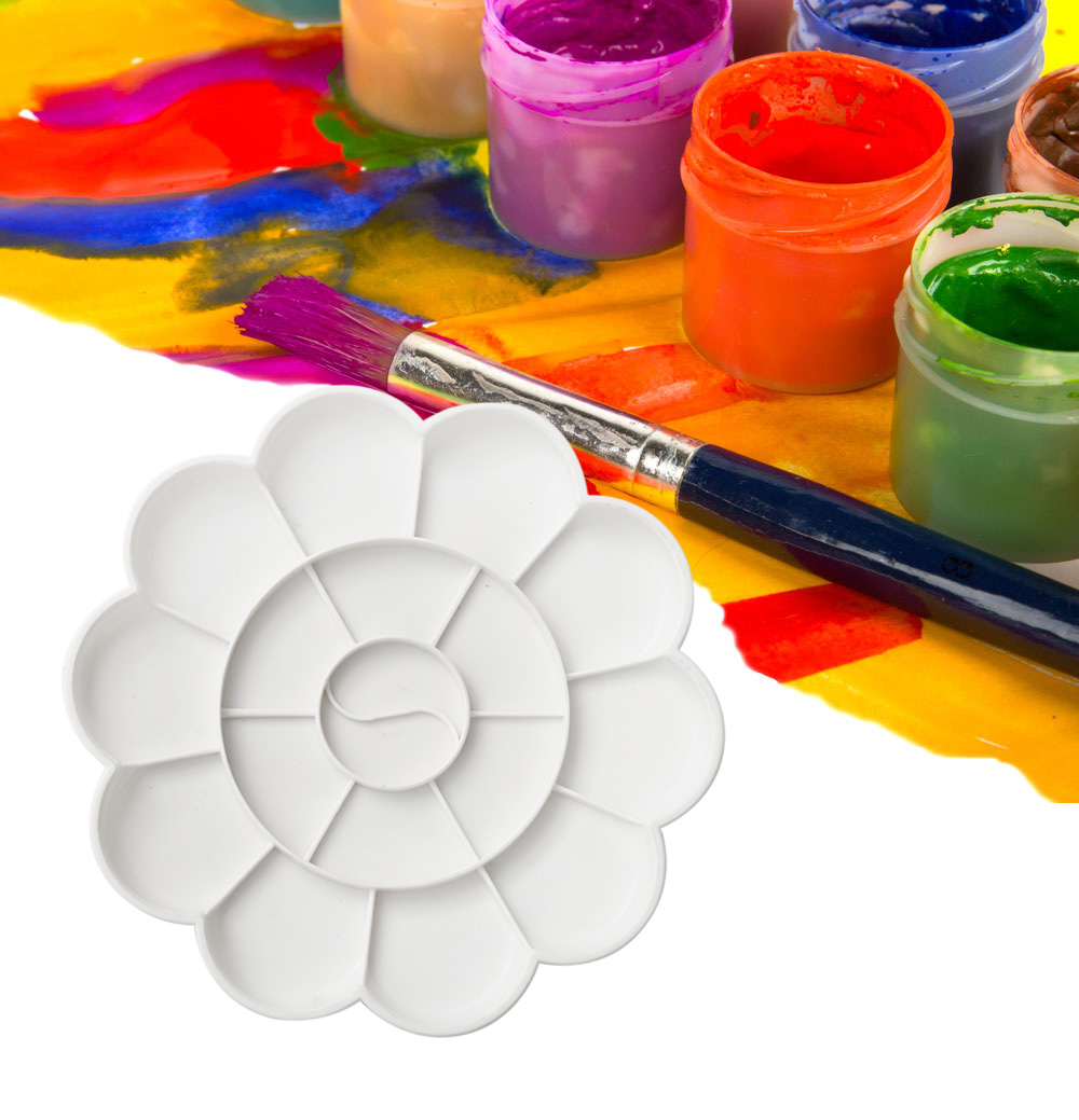 Color Mixing Tray Drawing Tool for Artist