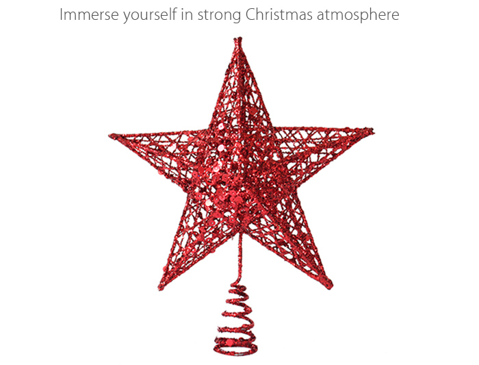 Star Style Christmas Tree Decoration Festival Product