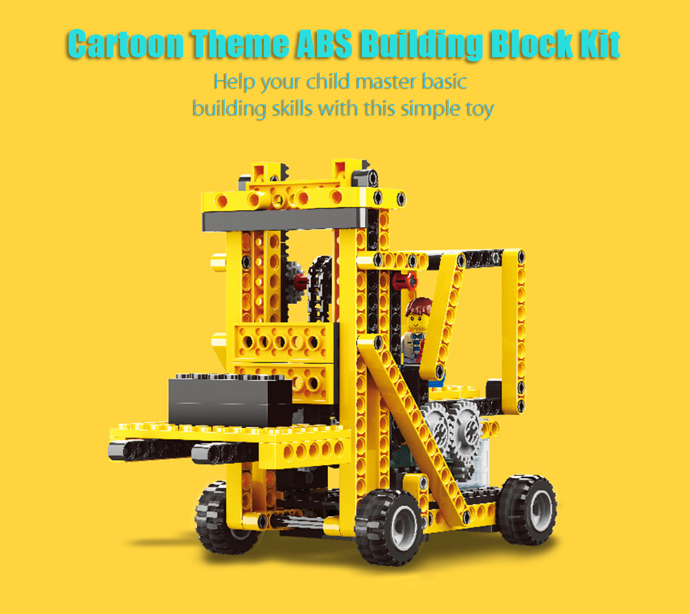 4 in 1 DIY Theme Educational Building Block Electric Toy