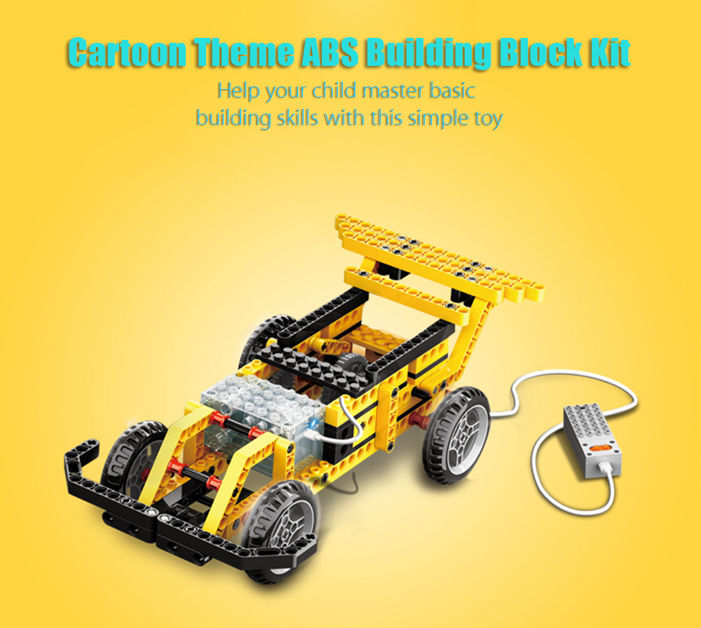 4 in 1 Mechanical Theme Educational Building Block Toy