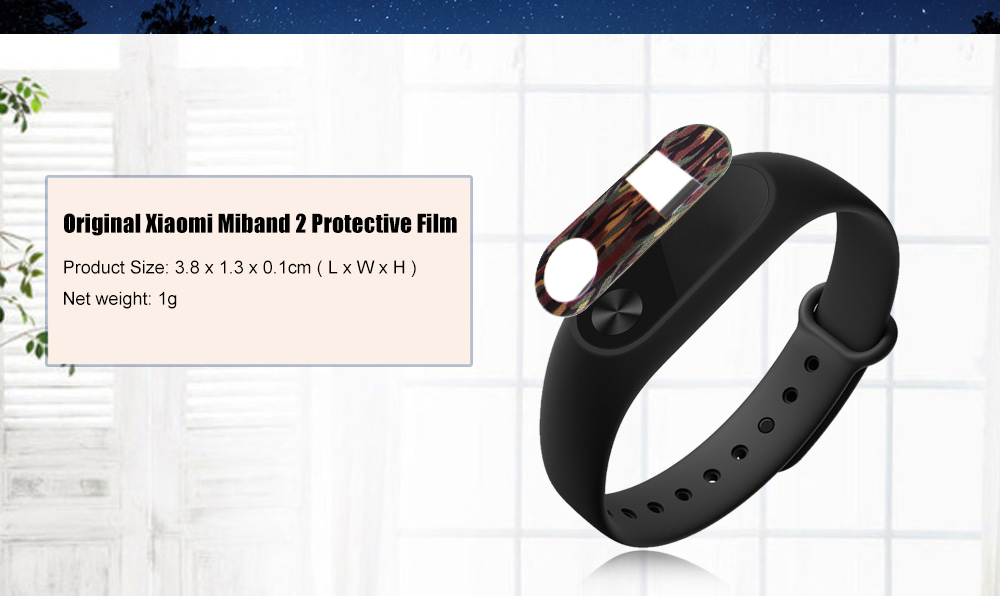 Original Xiaomi Miband 2 Colorful Protective Film