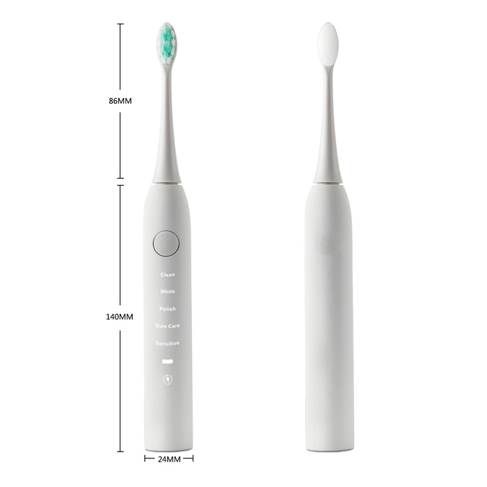 Smartsonic+ JK - T10 Electric Ultrasonic Vibration Tooth Brush 15 Working Modes Sonic Toothbrush