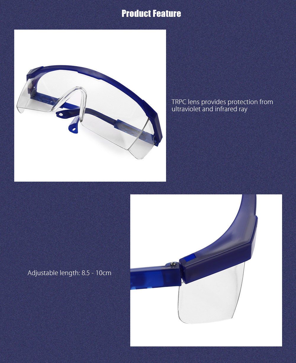 Practical Protective Glasses Safety Goggles