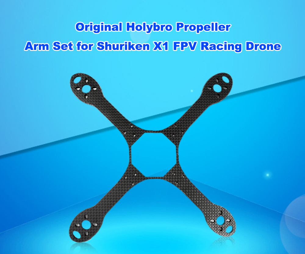 Original Holybro Carbon Fiber Propeller Arm 2pcs for Shuriken X1 FPV Racing Drone