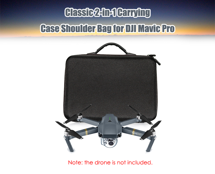 Fashionable 2-in-1 Carrying Case Shoulder Bag for DJI Mavic Pro RC Drone