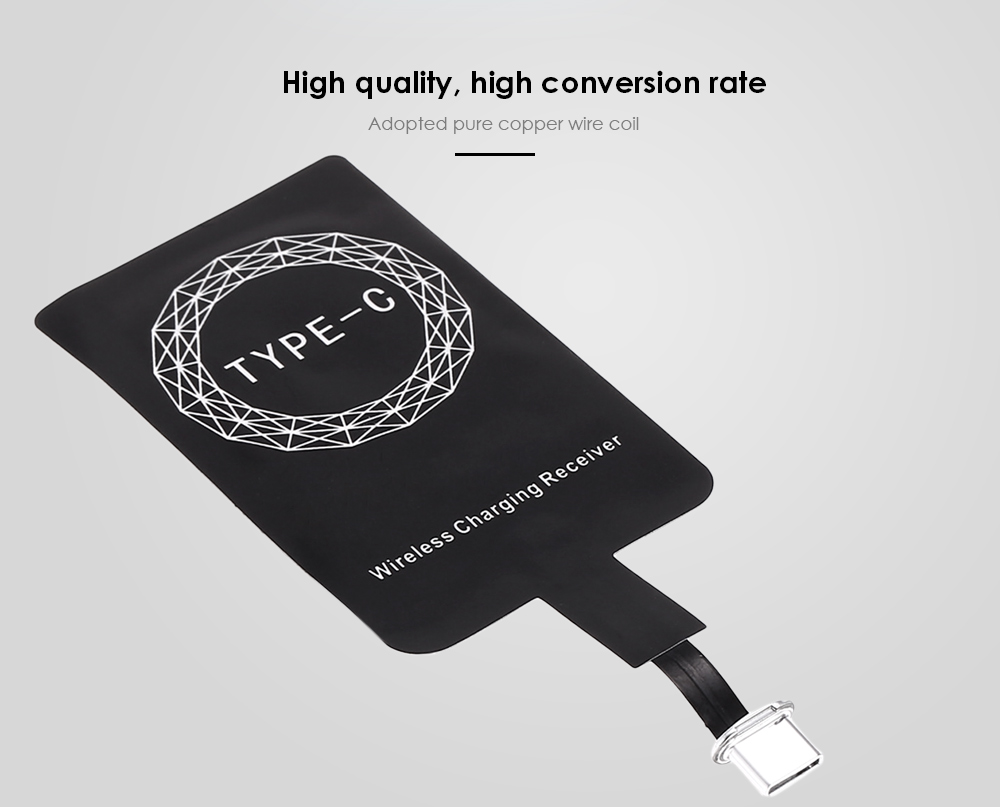 Qi-Type C Wireless Charging ricevitore Patch Acceptor