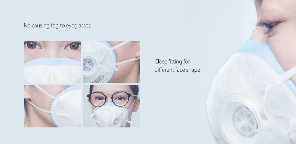 Xiaomi DD11V Disposable Anti-haze Anti-pollution PM2.5 Cycling Face Mask