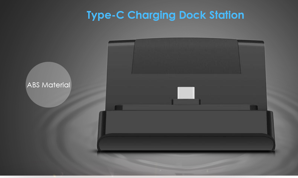 Type-C Interface ABS Anti-slip Charging Dock Station Phone Stand Holder