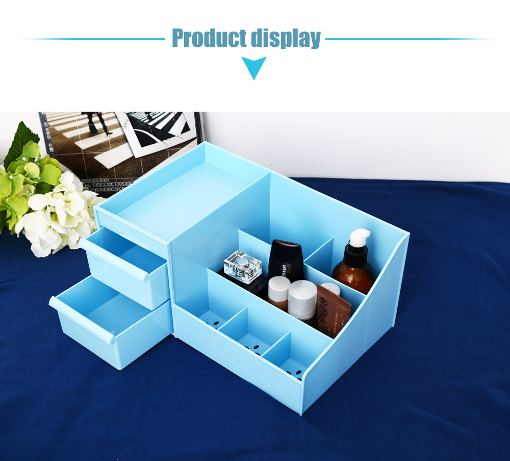 Multifunctional Makeup Storage Box Container