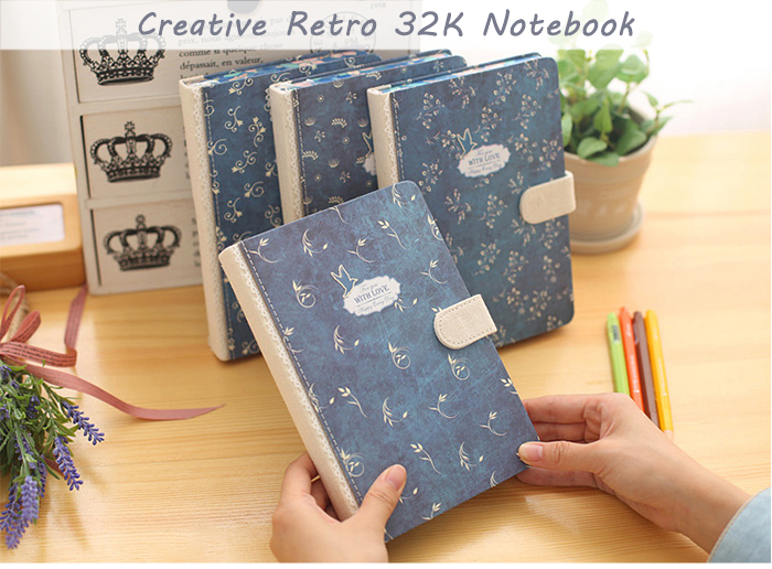 Creative Retro 32K Notebook Note Book