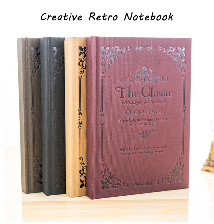 Creative Retro Note Book Stationery / Office Supplies