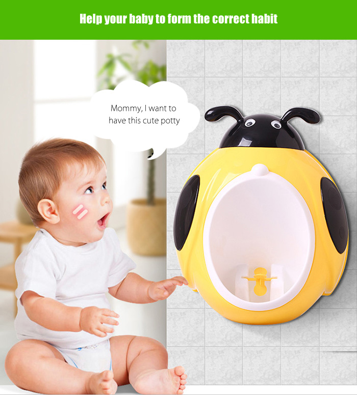 Cute Cartoon Baby Potty Toilet Trainer Urinary for Boys