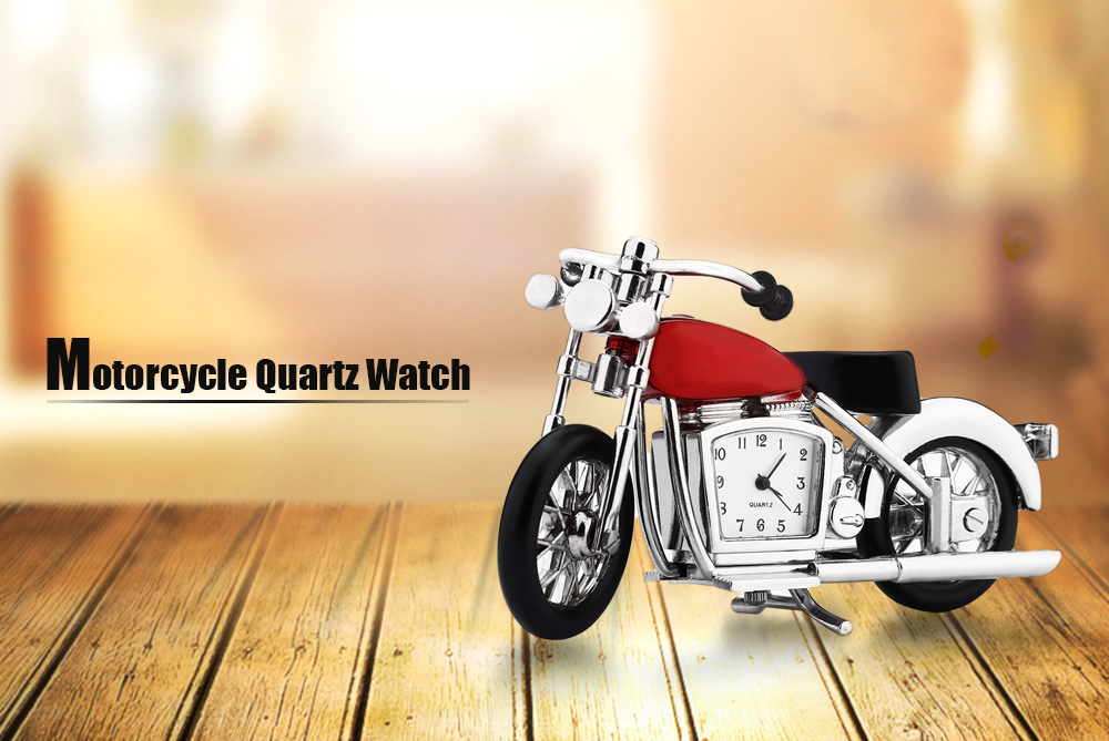 Motorcycle Quartz Watch Artwork with Imported Japan Movement