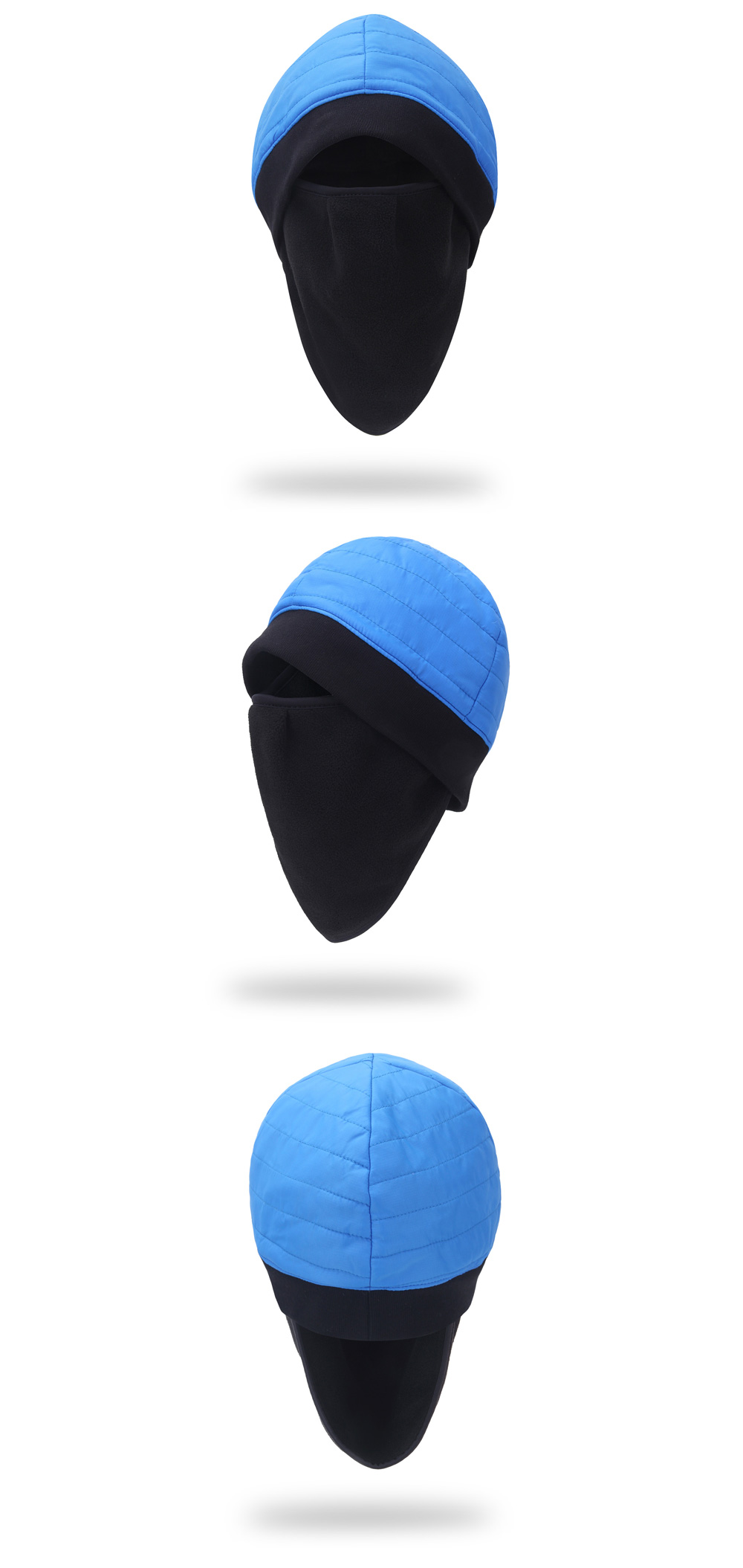 All-around Protection Winter Warm Hat Beanie with Face Mask