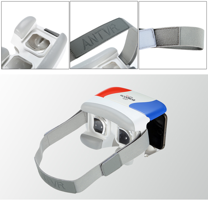 ANTVR Xiaomeng EuroCup Souvenir Edition Virtual Reality 3D Glasses with IPD Adjustment for 4.7 - 6.0 inch phones