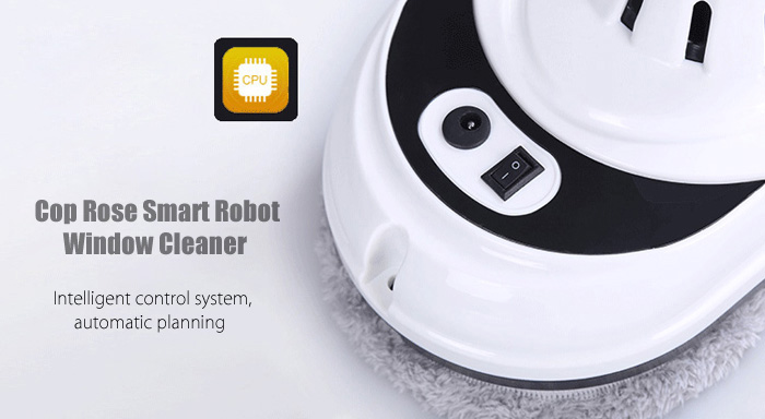 Cop Rose x4 Smart Robotic Vacuum Window Cleaner for Home Office