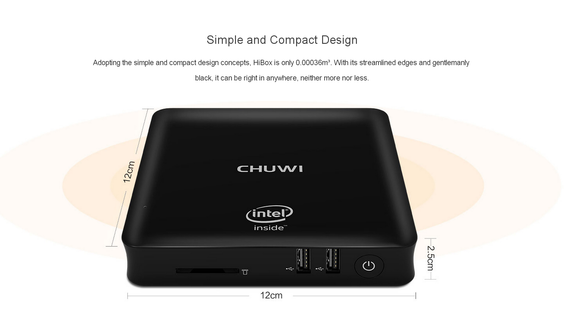 CHUWI HiBox Mini PC Android 5.1 + Window 10 Doble OS de 64bits