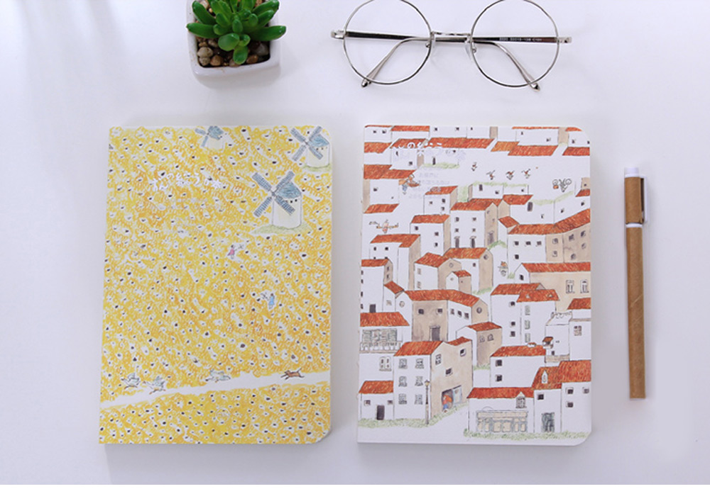 3090 Hand-painted Notebook Note Book