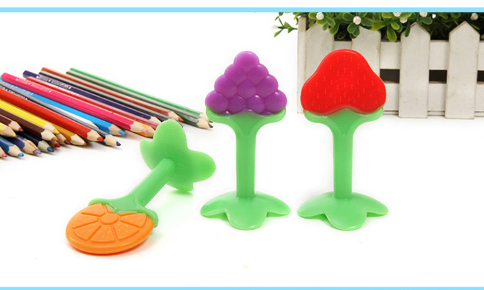 Morsafer Baby Infant Teether Eco-friendly Silicone Material