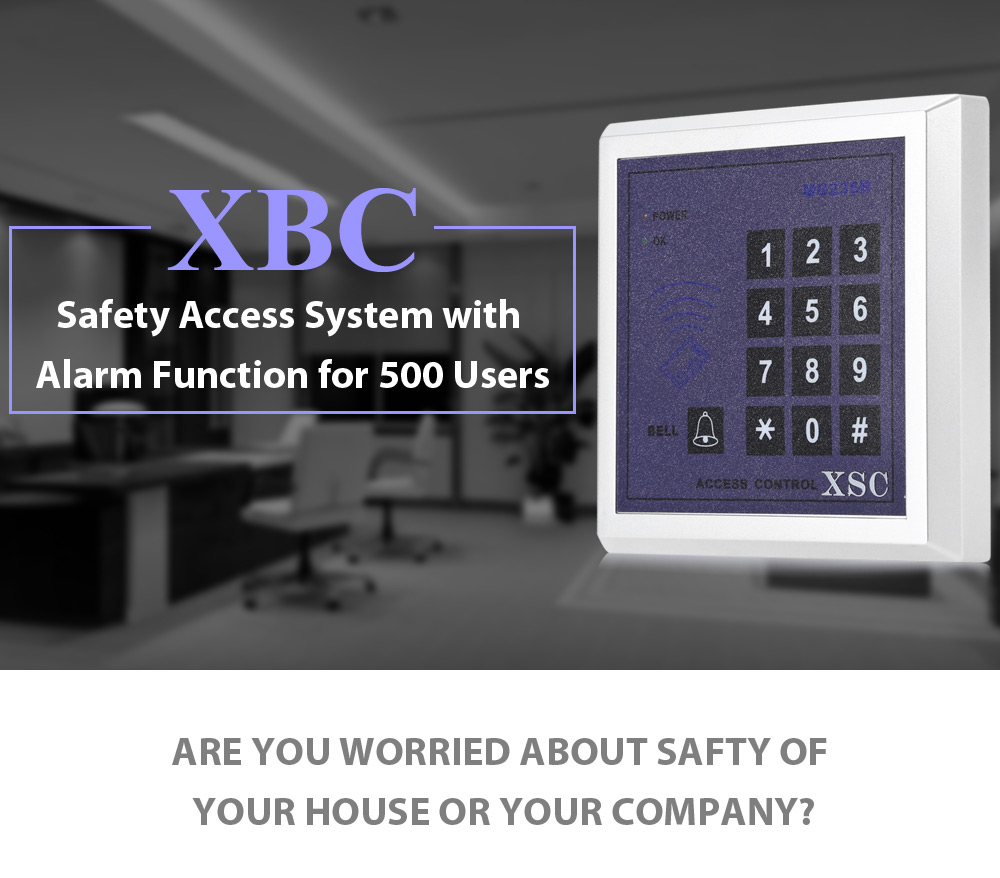 XSC Anti-break Access System Support Password / Inductive Card Built in Buzzer