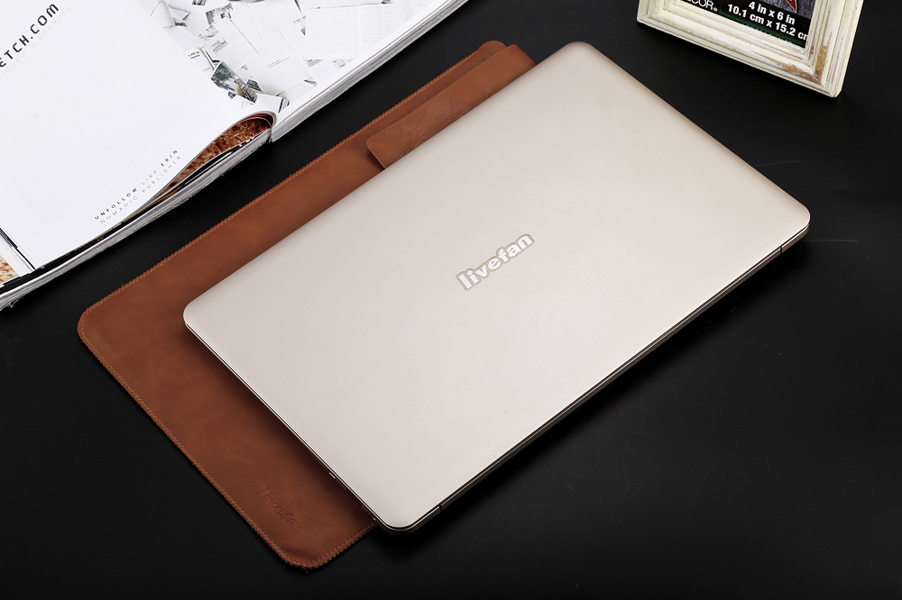 Livefan S1 Notebook Windows 10 Intel Core 5Y10C Dual Core 13.3 inch IPS 2K Screen 8GB RAM 256GB SSD Front Camera Bluetooth 4.0 Type-C