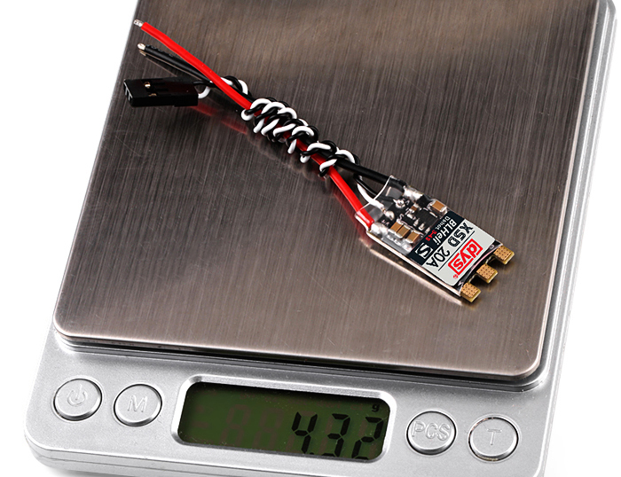 dys XSD 20A Solder Version BLHeli - S Brushless ESC with DShot600 DShot300 Compatible with 3 - 4S Input