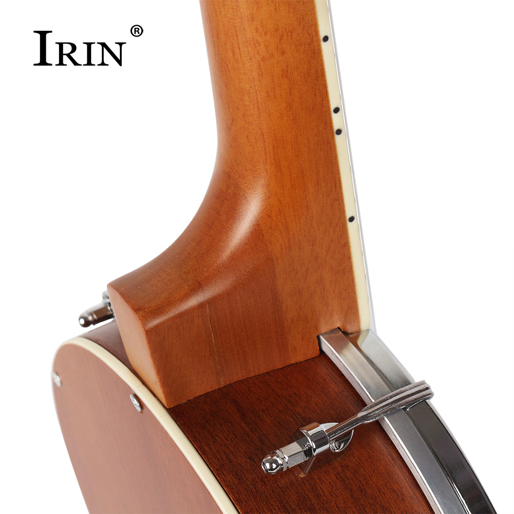 IRIN Professional Four-string Banjo Basswood Fingerboard Country Folk Music