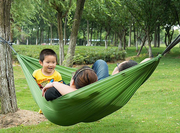 Naturehike 2-Person 190D Nylon Fabric Hammock for Outdoor Camping