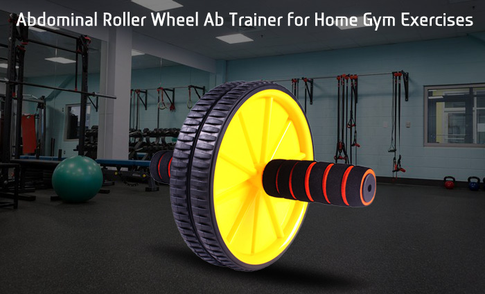 Ab Roller Wheel Fitness Equipment Abdominal Training Machine for Home Gym Core Exercises