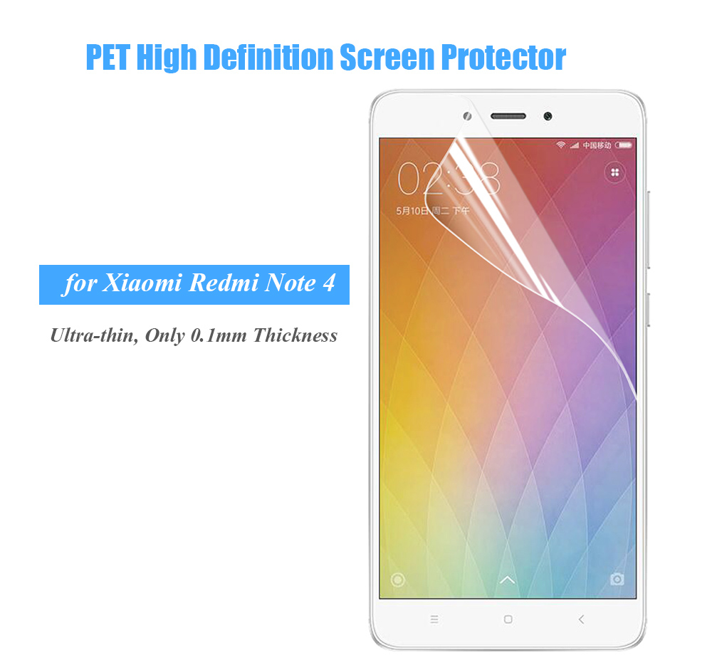 ENKAY Ultra-thin PET High Definition Screen Protective Film for Xiaomi Redmi Note 4
